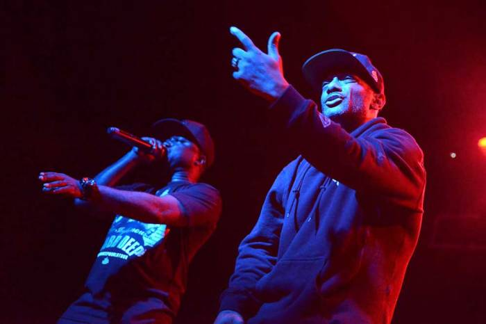 Mobb Deep live @ Hi-Fi, Brisbane on April 12th, 2015. Photo courtesy of Terry Soo.